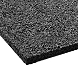 etm® Antivibrationsmatte | 62,5x40x2cm | vielseitig einsetzbar, aus Gummigranulat | Schutzmatte für elektrische Geräte | Terrassenpad
