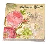East Majik Hochzeit-Geburtstags-Party Blumenpapierservietten