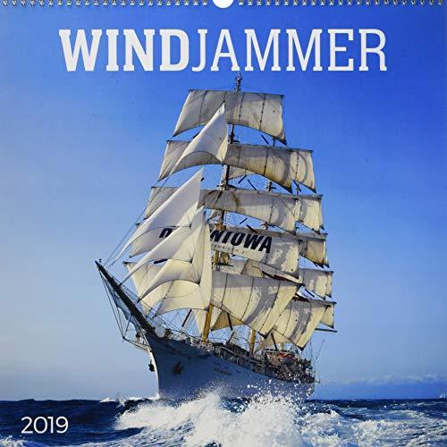 Windjammer 2019 - Tall Ships - Schiffe - Oldtimer - Großsegler - Bildkalender (42 x 42)