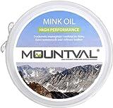 Mountval Mountval Mink Oil Dubbin Betún y reparación de zapatos, Transparente (Neutral), 100.00 ml