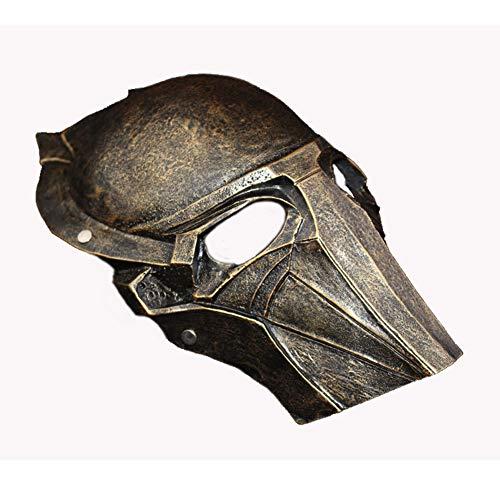 LIULINAN Halloween-Maske Predator Krieger Horror-Maske Falcon Ball-Atmosphäre Arrangieren Maske Modell Gruselig Maske (Maske-halloween Predator -)