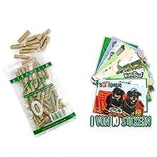 50er PURIZE® Xtra Slim Size Aktivkohlefilter Set - Organic