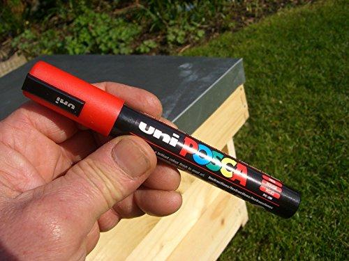 Queen bee marker pen set (5 pens) 6