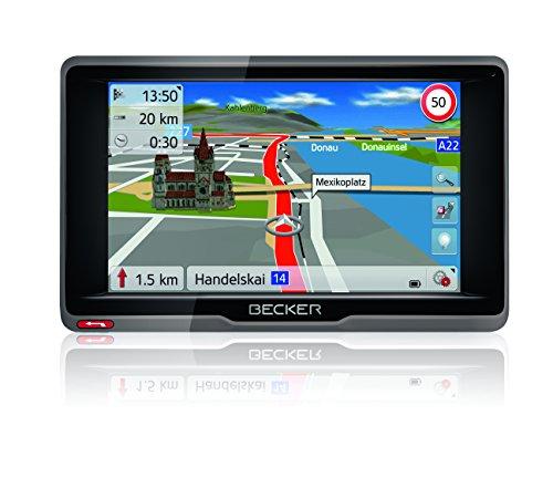 Becker ready.5 EU Navigationsgerät (12,7 cm (5 Zoll) Bildschirm, 45 Länder vorinstalliert  TMC, inkl. MagClick Aktivhalter, SituationScan)