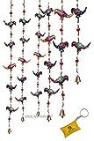 DreamKraft Decorative Parrot Door Hangings Wall Art (96 CM) (Set of 2)