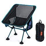 CAMEL CROWN Plegable Silla de Camping Ultraligera Portátil Silla con Bolsa de Transporte Fácil de Llevar Ideal para Senderismo Viaje Pesca Playa Jardin Acampar Barbacoa Actividades al Aire Libre