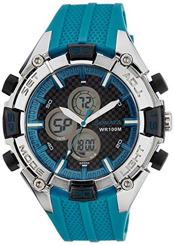 51Na713L%2BJL - Sonata 77028PP03J Ocean Series 3 watch
