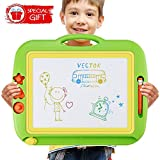 U-Home Doodle board Large Magnetic Drawing Boards 43.5 x 35.8cm Erasable Scribble Magic Writer Non-toxic Fancy Colorful Sketch Learning Toys Great Educational Gift for Kids Children Toddlers