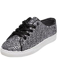 Catwalk Silver Sneakers for Women