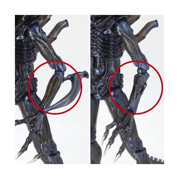 Aliens Revoltech SciFi Super Poseable Action Figure #016 Alien Warrior (japan import) 5