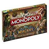 Winning Moves 019620 - Gioco da Tavolo Monopoly World of Warcraft, Versione Inglese
