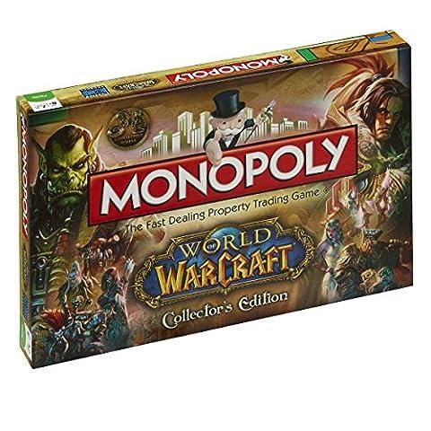 Winning Moves - 332404 - World Of Warcraft Jeu De Plateau Monopoly