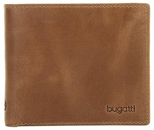 Bugatti Volo Wallet mit Kartenfach, 11 cm, Cognac