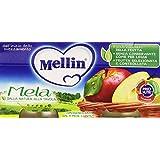 Mellin - Omogeneizzato, Mela - 200 grams (2 vasetti)
