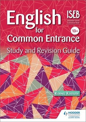 English for Common Entrance Study and Revision Guide (Study & Revision Guide)