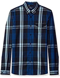 Fred Perry Men's Twill Check Shirt