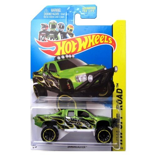 Sandblaster '14Hot Wheels 135/250(grün) Fahrzeug (Wheels Sandblaster Hot)