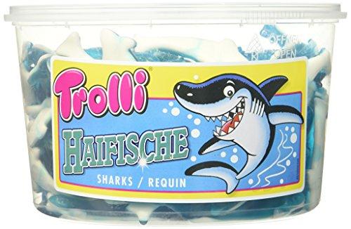 Trolli Haifisch, 2er Pack (2 x 1.2 kg) (Mann Essen Haifisch)
