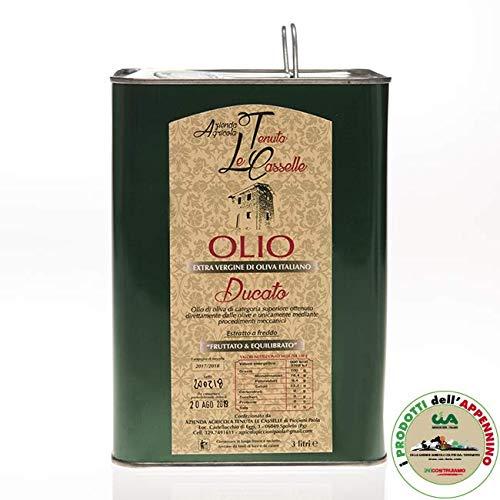 Azienda agricola tenuta le casselle - latta olio extra vergine di oliva tenuta le casselle, 3 l