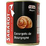 Sabarot - Escargots de Bourgogne 12 douzaines en conserve 465g