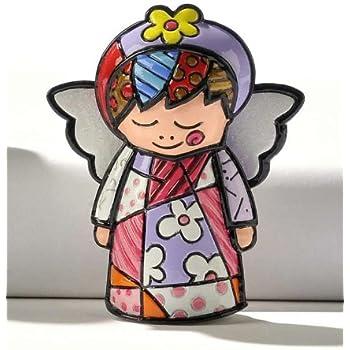 ROMERO BRITTO Mini Figur - Faith - Engel - Pop Art Kunst aus Miami #331388