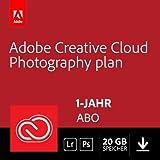 Adobe Creative Cloud Foto-Abo mit 20GB: Photoshop CC und Lightroom CC | 1 Jahreslizenz | PC/Mac Online Code & Download