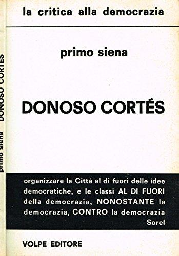DONOSO CORTES. - Amazon Libri