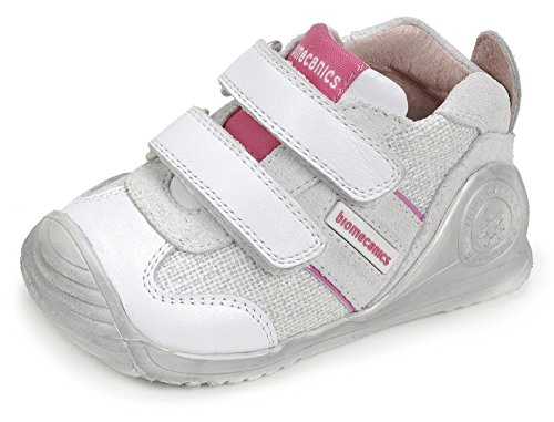 Biomecanics 172138, Zapatillas para Bebés, Blanco (White), 20 EU