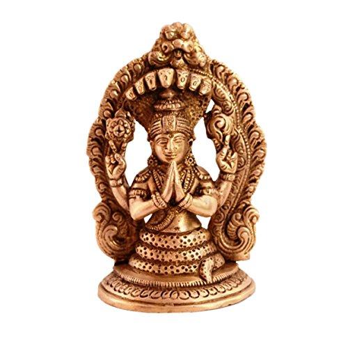 purpledip seltene Sammlung Gott der Yoga Maharishi patanajli Messing Statue für Home Décor, Home Tempel, Einzigartige indischen Geschenk 11083 -