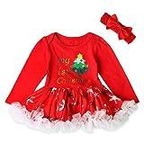 025cfbab8c146 Koly Robe Tutu Princesse Costume Deguisement de Noël Enfant Bebe Fille  Nouveau-né enfantin 2017