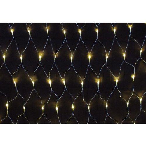 160er LED Lichternetz warmweis für Außen und Innen