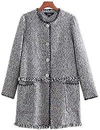 cappotti Giacche e tweed Amazon it Donna Abbigliamento wIpqBFv