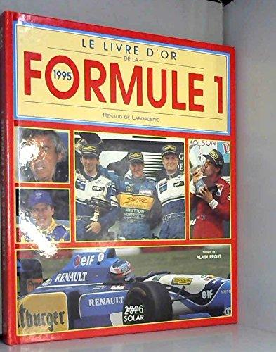 Le livre d'or de la formule 1 : 1995