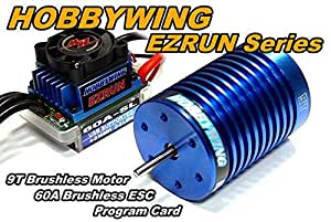 Rcecho Hobbywing Ezrun 4300 Kv 9t Brushless Motor 60a