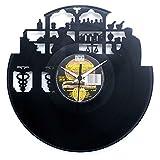 Apotheker Geschenkidee für Apotheke Eröffnung Geschäft Vinyl Schallplatten- Uhr Schwarz Vinyluse original