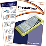 "mumbi Displayschutzfolie Nokia N8 N8-00 N 8 Displayschutz ""CrystalClear"" unsichtbar"