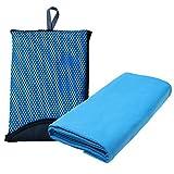 """Asciugamano in Microfibra - Asciugamani Asciugatura Rapida Per Nuoto e Piscina, Sport, Palestra, Campeggio, Yoga, Pilates130 x 80 CM(51.2""""*31.5"""")"""