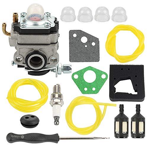 Serie Tiller (Allong Vergaser + Luftfilter Kraftstofffilter/Leitung für Honda GX22 GX31 Motor FG100 Tiller Tune-Up Kit)