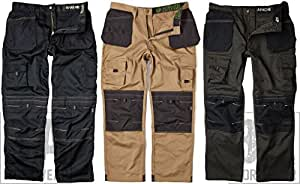 Apache Men's Holster Polycotton Holster Trouser, Stone30W x 29L