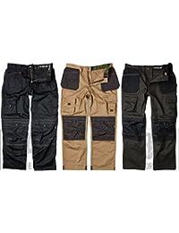 Sterling safetywear ltd APKHT STONE 32/31 - Los pantalones de los hombres de la pistolera pistolera-poly, gris,