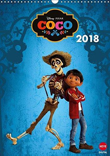 Coco: Lebendiger als das Leben! (Wandkalender 2018 DIN A3 hoch): Das ideale Geschenk für alle Fans des Kinofilms Coco (Monatskalender, 14 Seiten ) por Disney Pixar