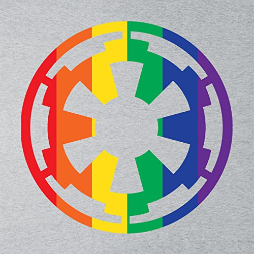 Star Wars Rogue One Empire Rainbow Logo Men's Vest Heather Grey