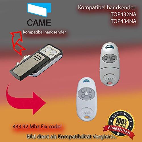 CAME TOP432NA, CAME TOP434NA Ersatz für Handsender der Fernbedienung, 433.92Mhz, fixed, Klon-code