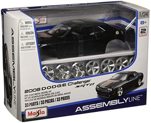 Maisto Model Kit - Dodge Dodge Dodge Challenger SRT8 - Black - 1:24Scale - RT39280 | De Qualité  baf1a5