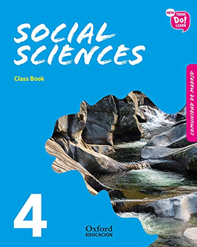 New Think Do Learn Social Sciences 4. Class Book (Madrid Edition)