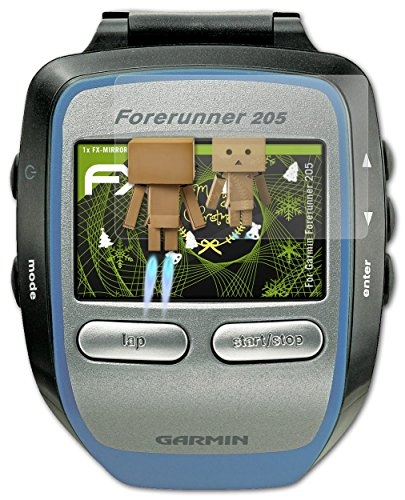 atfolix-screen-protection-garmin-forerunner-205-mirror-screen-protection-fx-mirror-with-mirror-effec