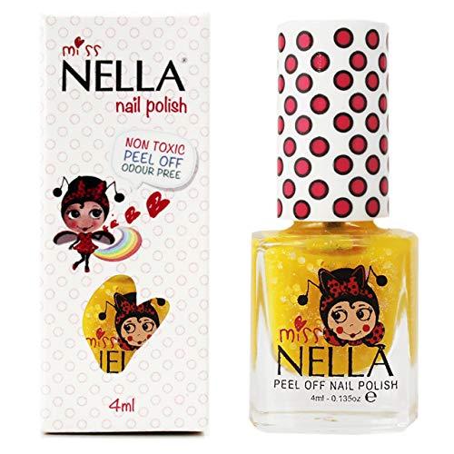 Miss Nella HONEY TWINKLES- Esmalte amarillo especial