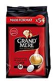 GRAND MERE Café Corsé - 270 Dosettes Souples - Lot de 5 x 54 dosettes