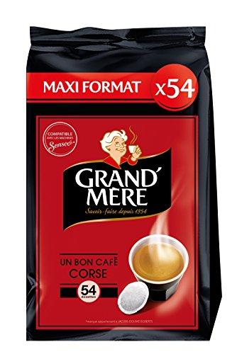 GRAND MERE Café Corsé - 54 Dosettes Souples