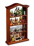 Reutter Porzellan Miniaturen - Barschrank mit Spiegelrückwand schön dekoriert, im Maßstab 1:12 für Puppenstube